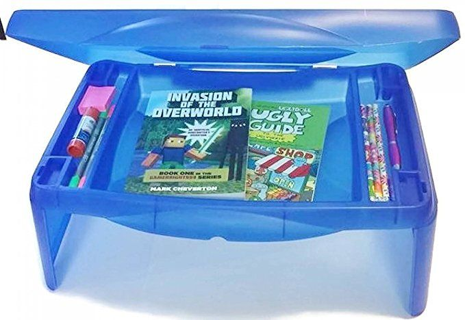 Lap Desk With Storage Perfect For Flexible Seating Classrooms Kids Folding 17 X 11 Lap Desk With Storage Blue Lap Desk With Storage Lap Desk Desk Storage