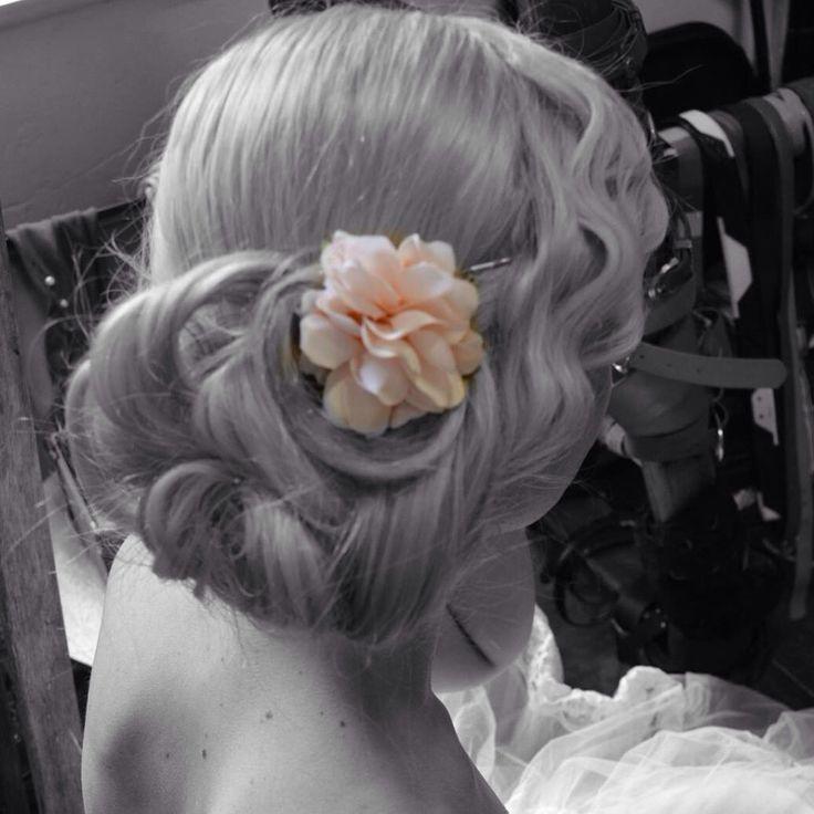 Floral pretty hair