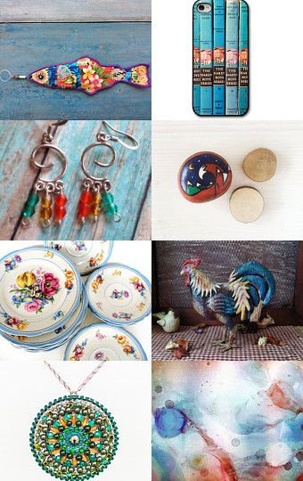 bright summer here  by Elena Doniy on Etsy--Pinned with TreasuryPin.com