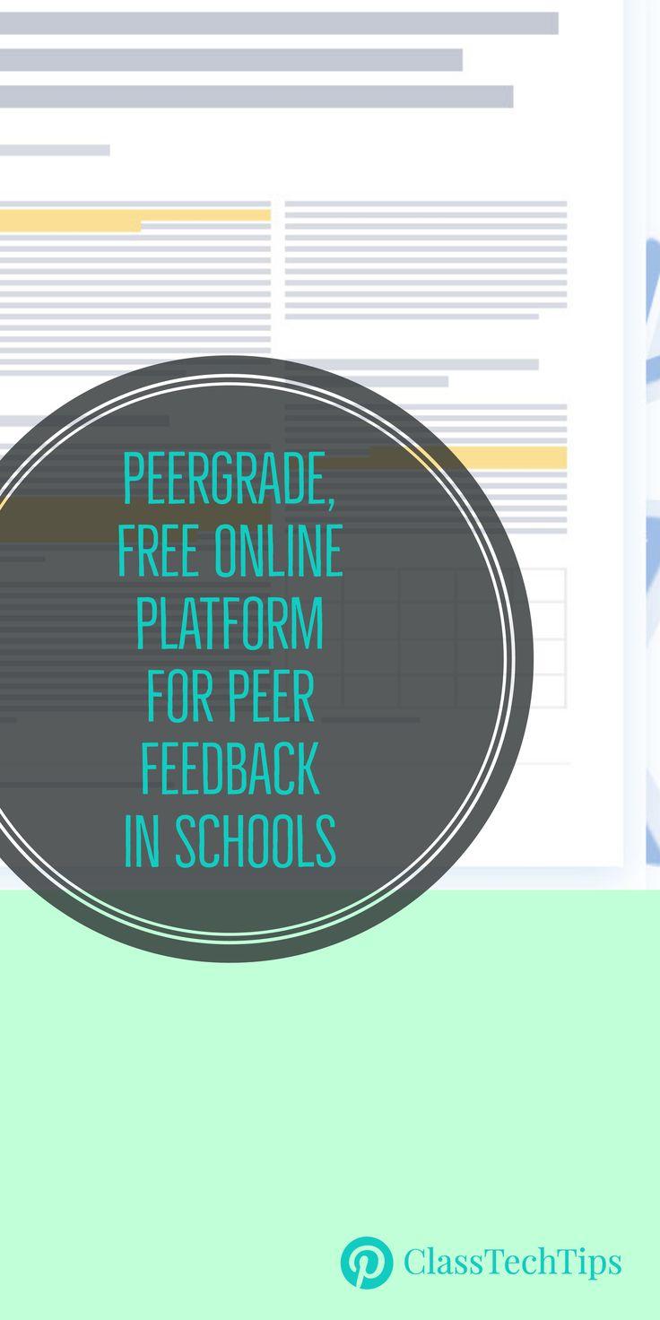Peergrade, Free Online Platform for Peer Feedback in Schools
