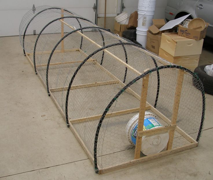 pvc pipe chicken tractor | Chickens Pens | Woodworking Project Plans