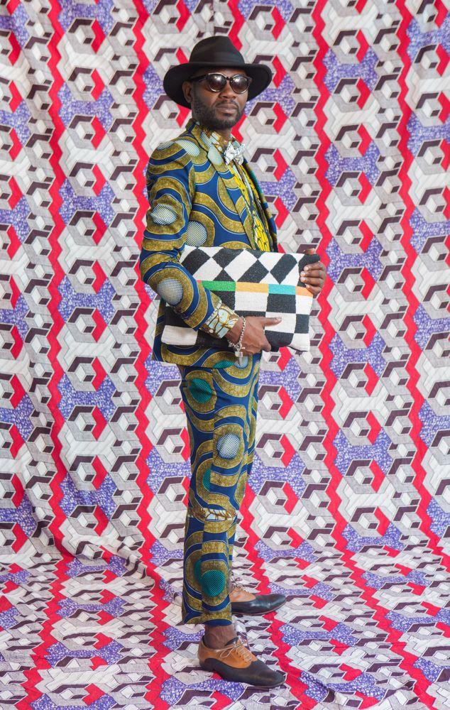 Samson Soboye at Africa Utopia  All Photos by: Othello De'Souza-Hartley  Blog: African Prints in Fashion