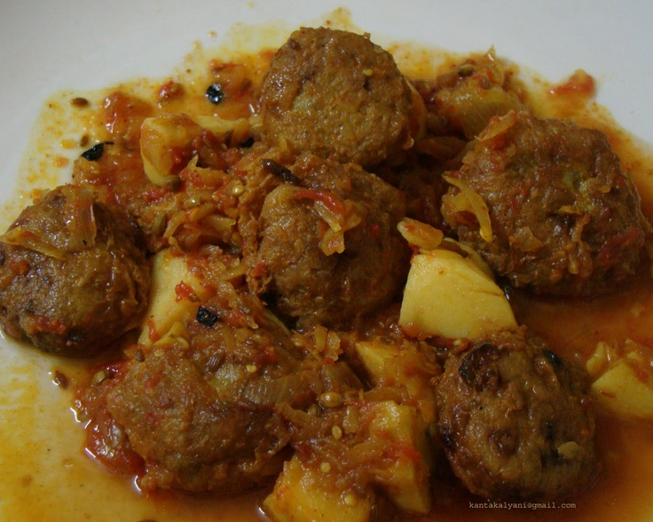 Raw banana koftas | Koftas | Pinterest