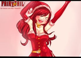DeviantArt: More Like Fairy Tail Christmas Special ERZA by Hitomi8881