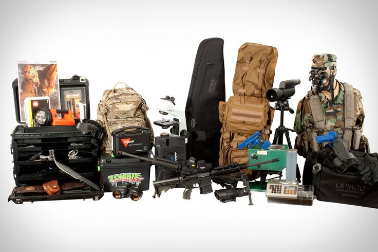 Z.E.R.O. Kit - The best Zombie Apocalypse Survival Kit!...or just a lot of fun in case the Zombie's never show up.