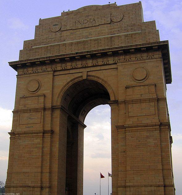 India Gate New Delhi monument http://mithunonthe.net/2010/03/31/taj-mahal-agra-new-delhi-red-fort-raj-ghat-india-gate-rashtrapati-bhavan/ #india #travel #newdelhi
