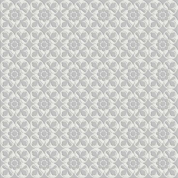 Atrium Kios Gris Glazed Porcelain Floor Tile: 7VFBGFL_60*60FleurBlanck-Gris, Public Spaces, Bathroom