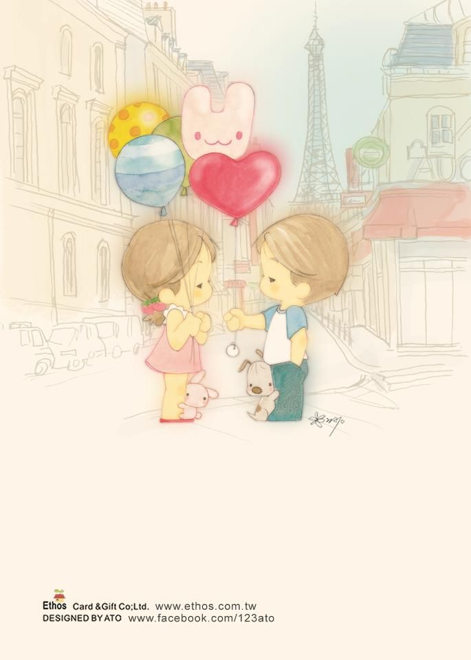 love and balloons