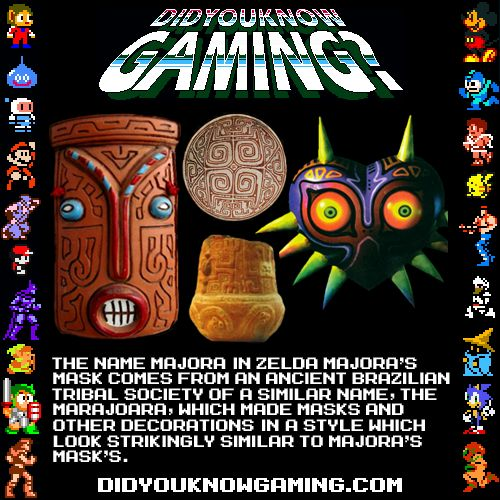 The name Majora in Zelda Majora's Mask comes from an ...