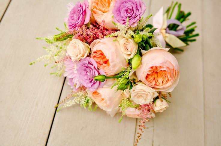 wedding bouqet, devid ostin