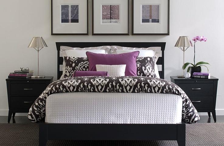 17 best ideas about purple black bedroom on pinterest for Black and purple bedroom designs