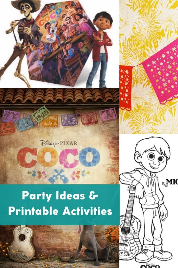 Everything You Need For Your Coco Party Or Movie Night With