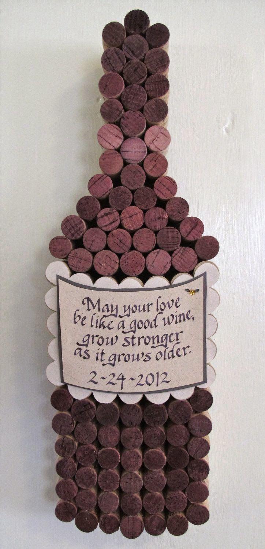 cork wine bottle cool idea