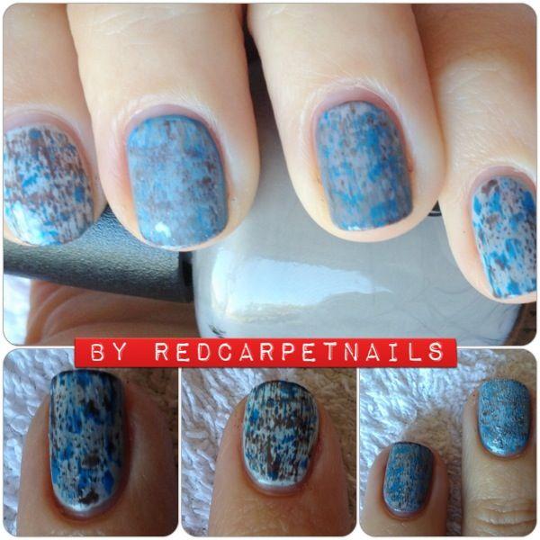 Glacier nail design. #getthem #fashion #winter #nailart #nails #Manicurism  Get these super cool Glacier nails By Manicurism book now