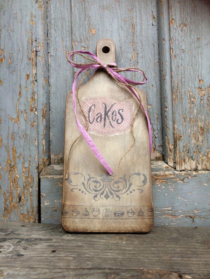 #loparik #Cakes #decupage #vintage #FidArt #handmade