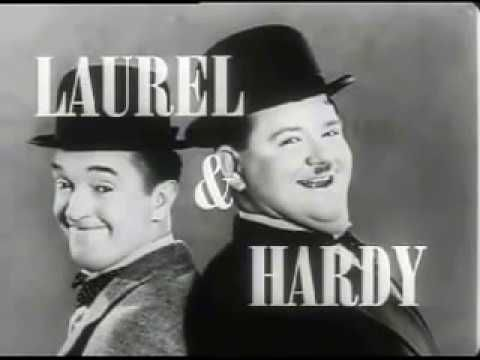 LAUREL AND HARDY (lady problems)