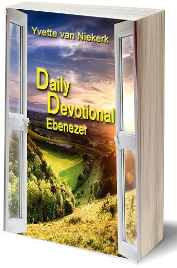 """Awesome, my Book Daily Devotional Ebenezer will be available from May 21, 2017.  """"Now you can put the Holy Spirit back into your quiet time with the Lord each day using Daily Devotional Ebenezer.  Simply put, a one-minute scripture with some of my personal inspirations and prayers.   If you hurry now, you are able to purchase my book at Kellanpublishing.com for a digital copy at a 50% discount rate, stay tuned …"""