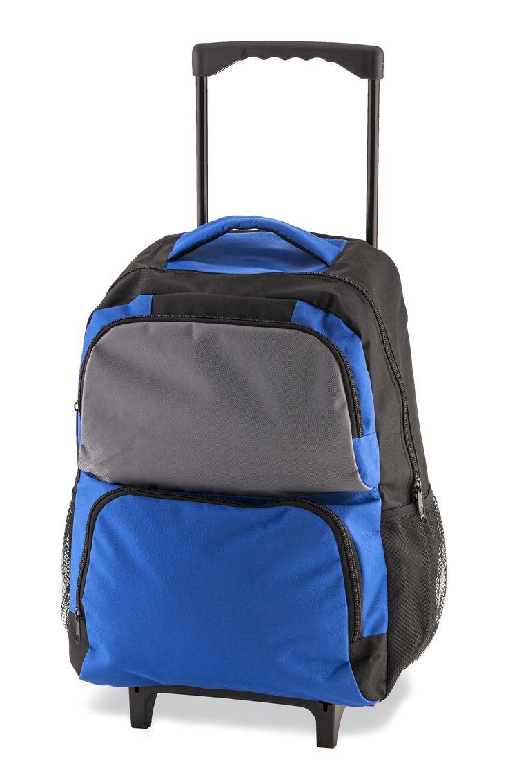Ya disponible!!  Bolso Maleta Trolley Backpack Dilbert Con Ruedas y Bolsillos - Azul https://www.compranet.com.co/moda/14123-cpn-04630-01-bolso-maleta-trolley-backpack-dilbert-con-ruedas-y-bolsillos-azul.html