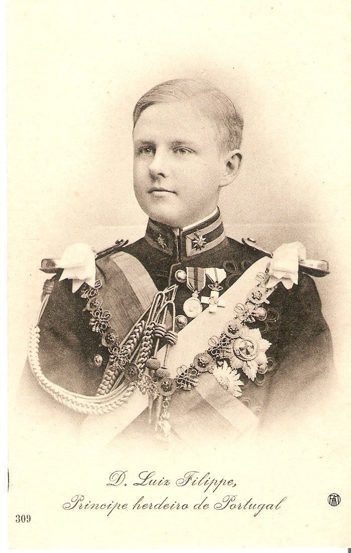 Prince Luis Filipe of Portugal resembled his German ancestors more than his Portugese.   He had an untimely end at age 20, when he and his father King Carlos were assassinated by anarchists.