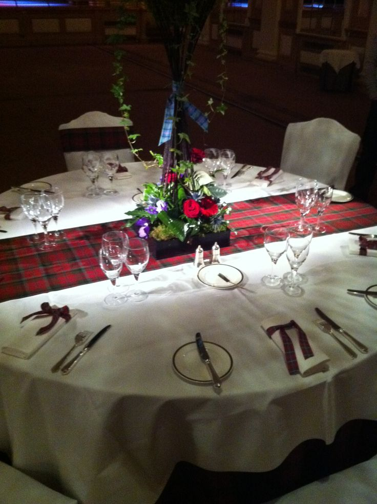 A proper Scottish table setting | The Gleneagles Hotel ...