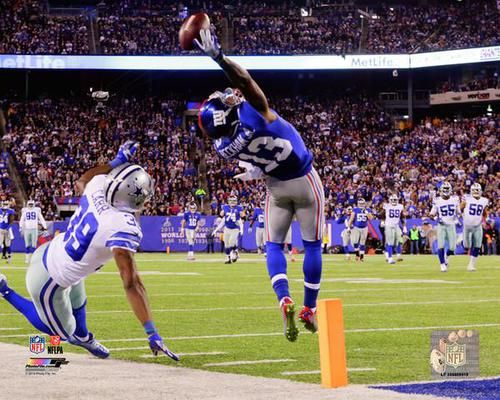 Odell Beckham Jr. Unsigned 16x20 New York Giants The Catch NFL Photo