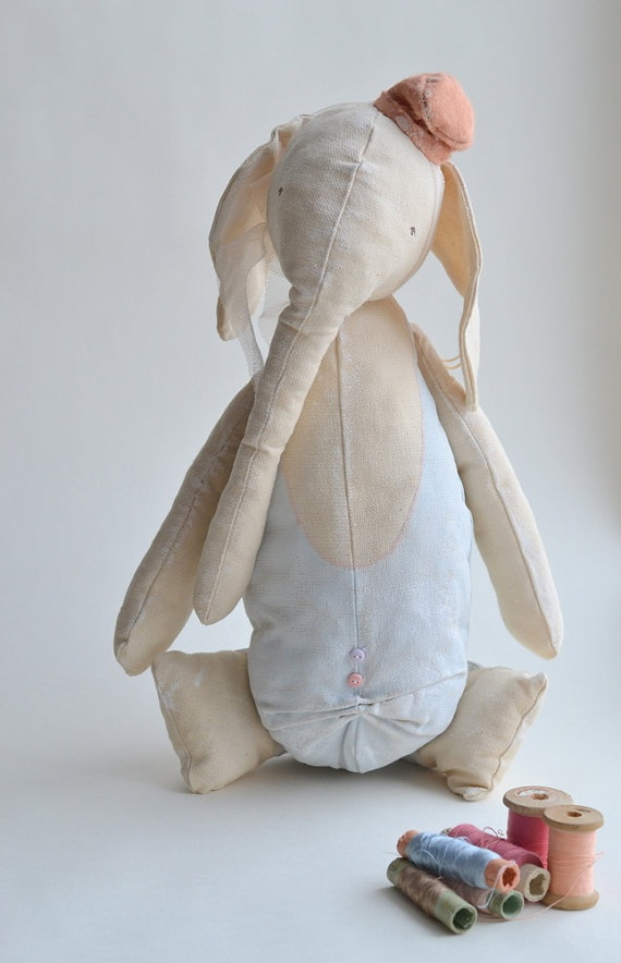 Adorable, handmade elephant by annapavlovna $159.00