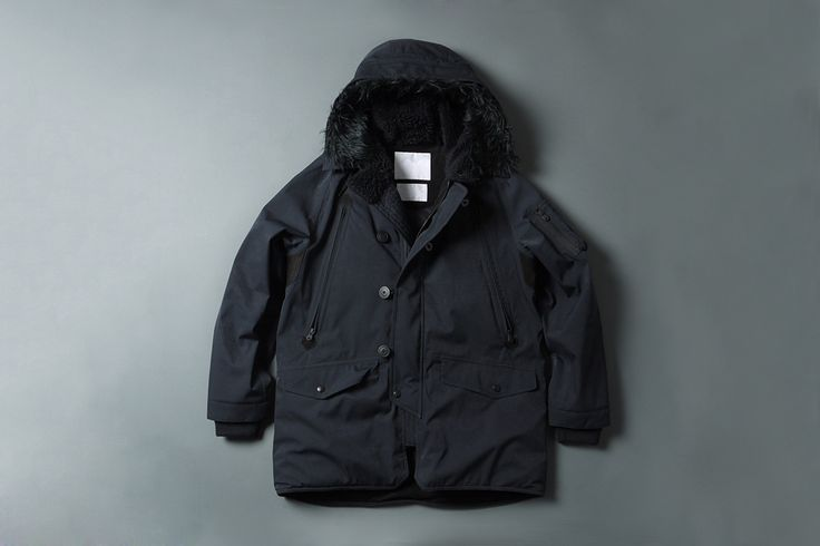 White Mountaineering GORE-TEX Herringbone N-3B Boa Jacket | HYPEBEAST
