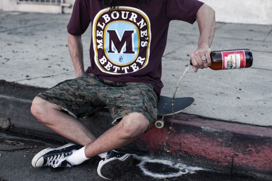 "Third Chapter ""Melbourne's Better"" #melbourne #streetwear #beer"