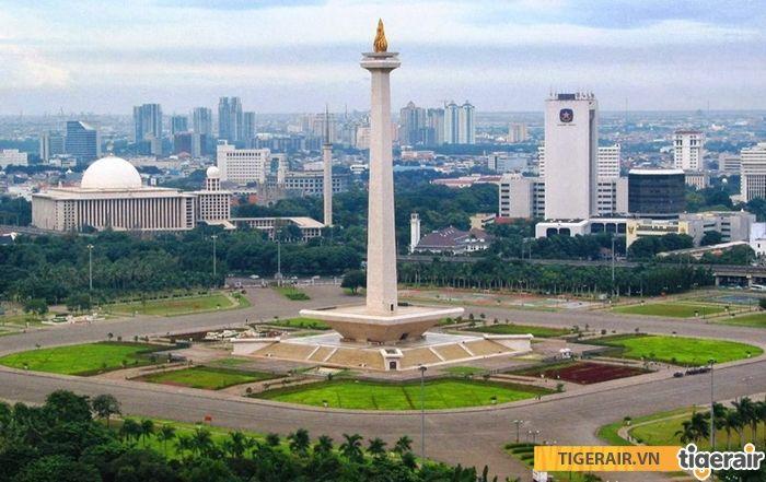 Tiger Air khuyến mại đi Jakarta chỉ từ 73 USD - Đại lý Tiger Airways chính thức Việt Nam