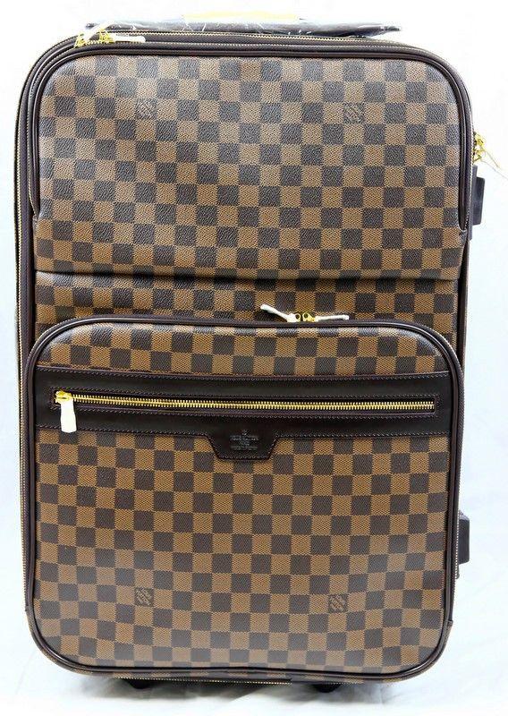 Чемодан Louis Vuitton LV N23297 луи витон в коричневую клетку #104    Чемодан Louis Vuitton LV N23297 луи витон в коричневую клетку #104 Отделка из натуральной кожиОтличное качество!Размер 40см х 55см х 20см Цена снижена, рапродажа!