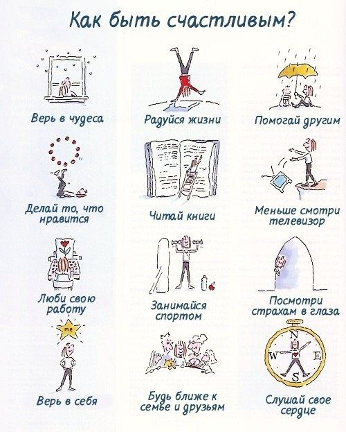 How to be become happy?