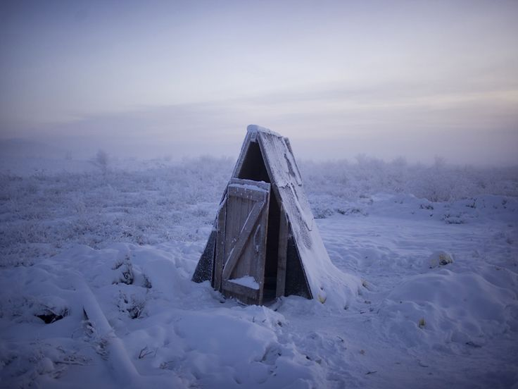 What It's Like Living in the Coldest Town on Earth | A toilet on the tundra, midway betwee…
