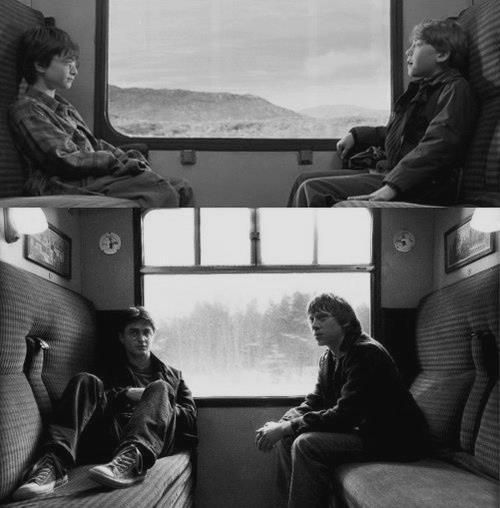 First and last train ride...