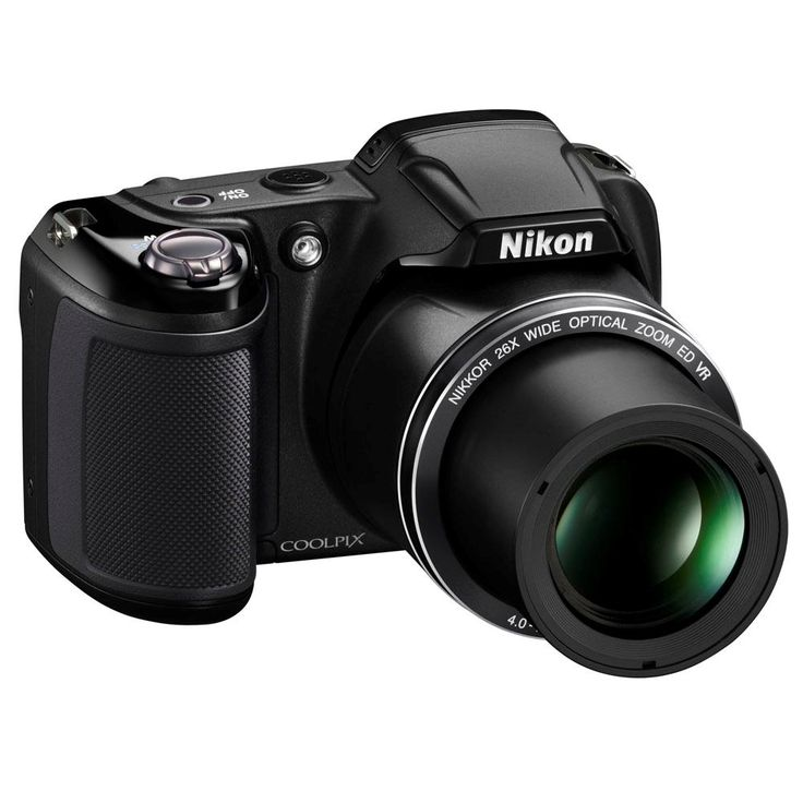 [casas bahia] Câmera semi profissional Nikon Coolpix L330 Preta - 20.2 MP, r$ 299,00