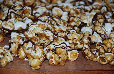 Zebra Popcorn recipe