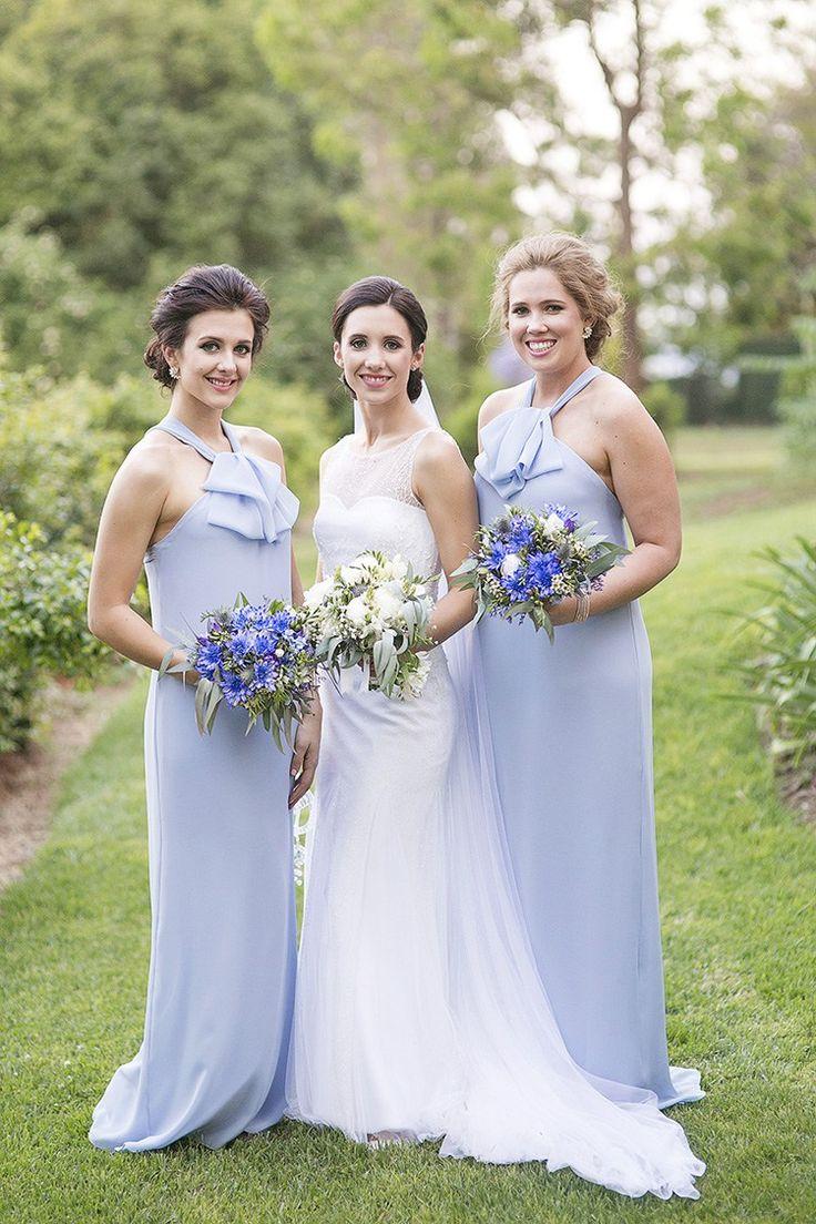 229 best beautiful bridesmaids images on pinterest wedding cornflower blue garden wedding in australia ombrellifo Image collections