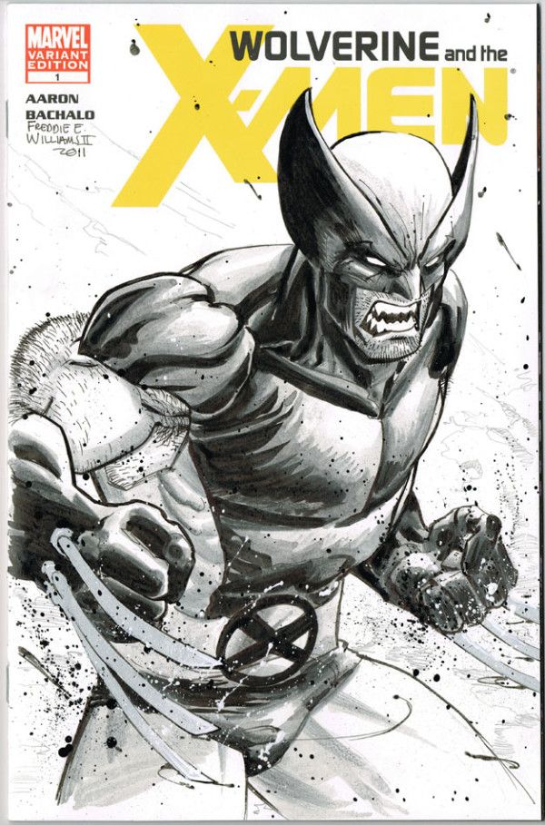 Wolverine by FreddieEWilliamsii on deviantART
