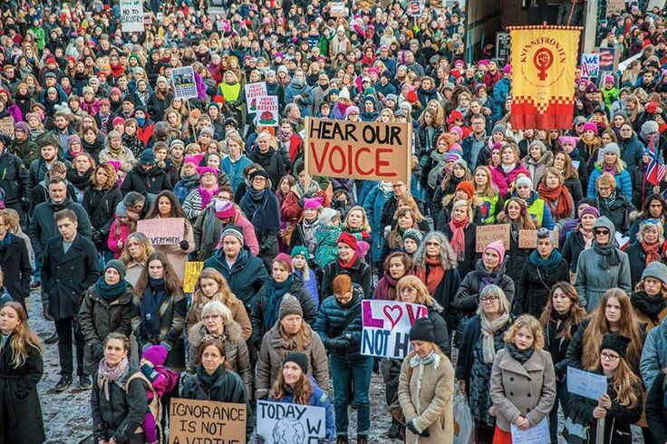 121 fotos registram a Marcha das Mulheres ao redor do mundo ⋆ Geekness