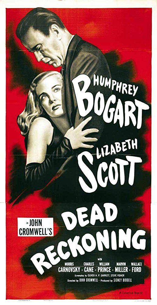 Humphrey Bogart and Lizabeth Scott in Dead Reckoning (1947)