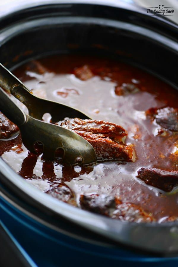 Slow Cooker Grape Jelly Ribs
