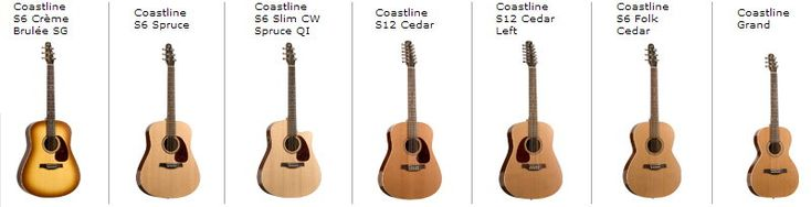 Seagull Guitars | Strumviews.com - complete acoustic, electric guitar product…
