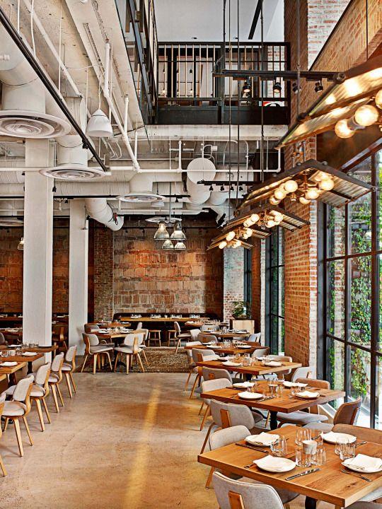 1 Hotel Central Park By Avroko Intrr Cafe Factr Indstr In 2018 Pinterest Restaurant Design And