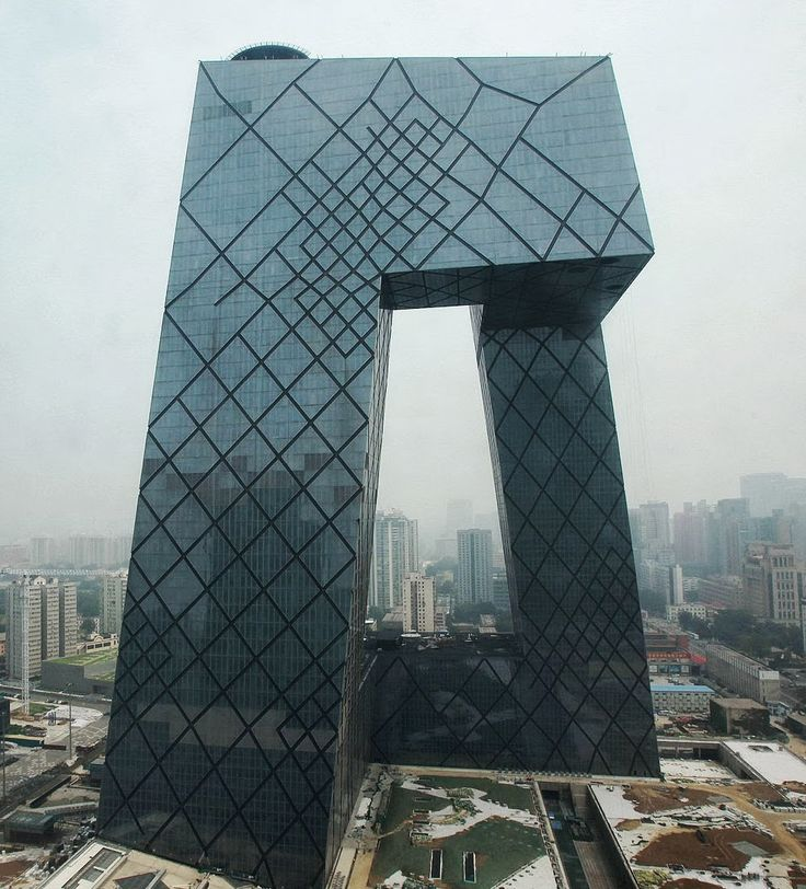 Koolhaas, China Central Television, Beijing, 2008