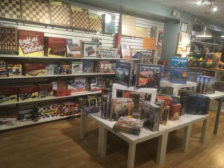 Check out http://labyrinthgameshop.com!  Labyrinth Games & Puzzles - Home Page - A unique, hands-on game and puzzle store located on Capitol Hill in Washington, DC.