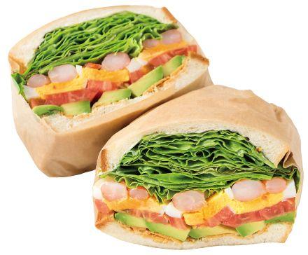 Bon Vivant ~sandwich~ (ボン ヴィヴァン サンドイッチ) 渋谷 海老アボカドサンドイッチ