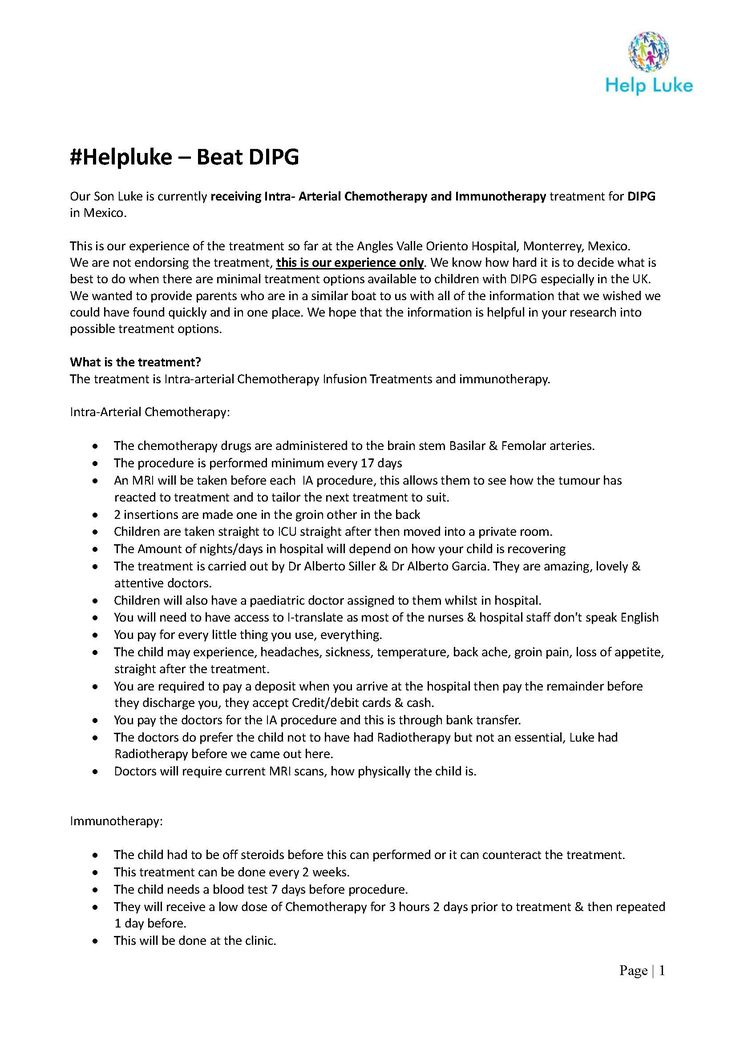 Some information on our experience of the treatment in Mexico so far - monster resume templates