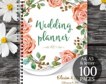 Wedding planner; Wedding binder, Wedding planner book, Wedding planner printable, Wedding binder printables, Wedding planner printables