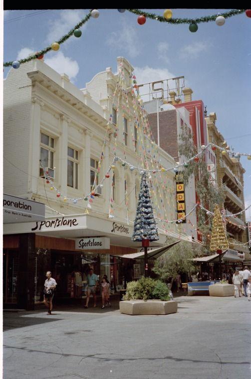 Christmas Decorations Perth Australia Street