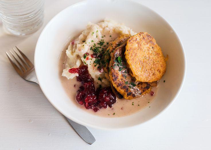Exempel på 7 veganska måltider.