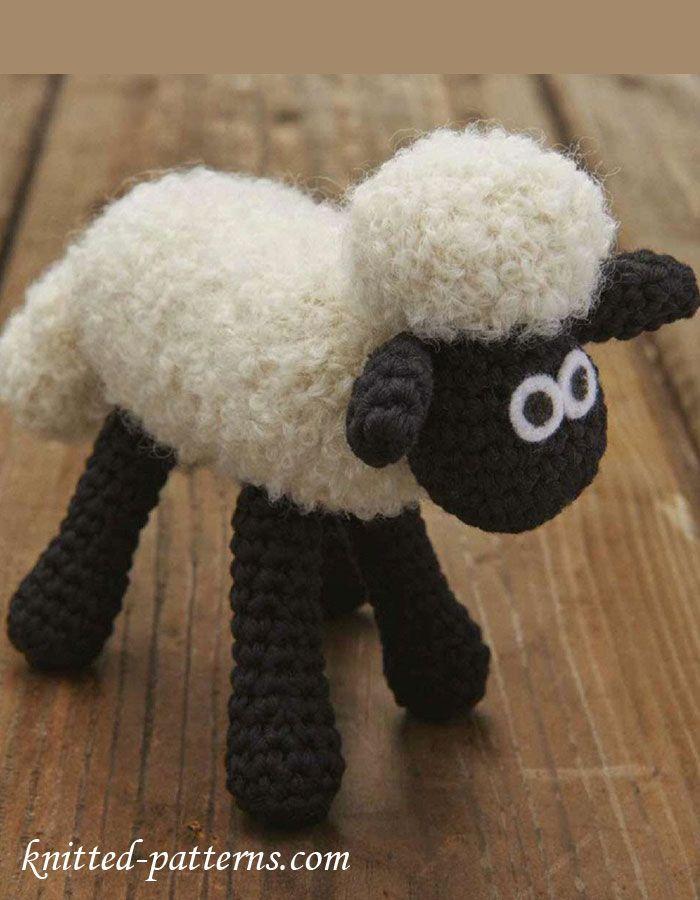 Amigurumi Toy - Shaun the Sheep - Free English Pattern